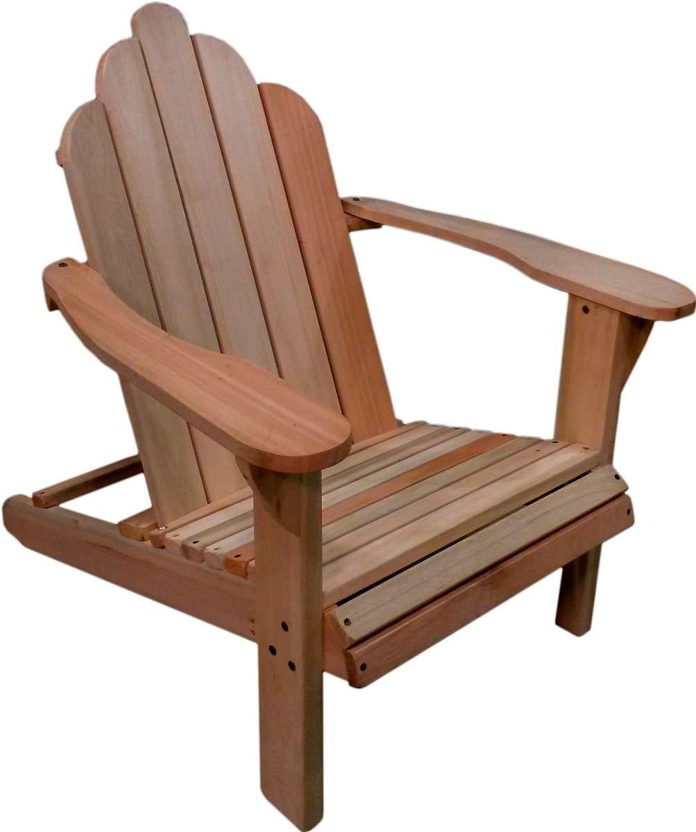Sillon adirondack fabrica de muebles forestry for Sillones rusticos de madera