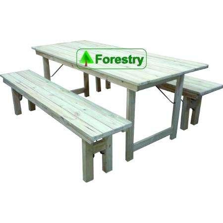 mesa de madera plegable quincho y jardin fabrica de