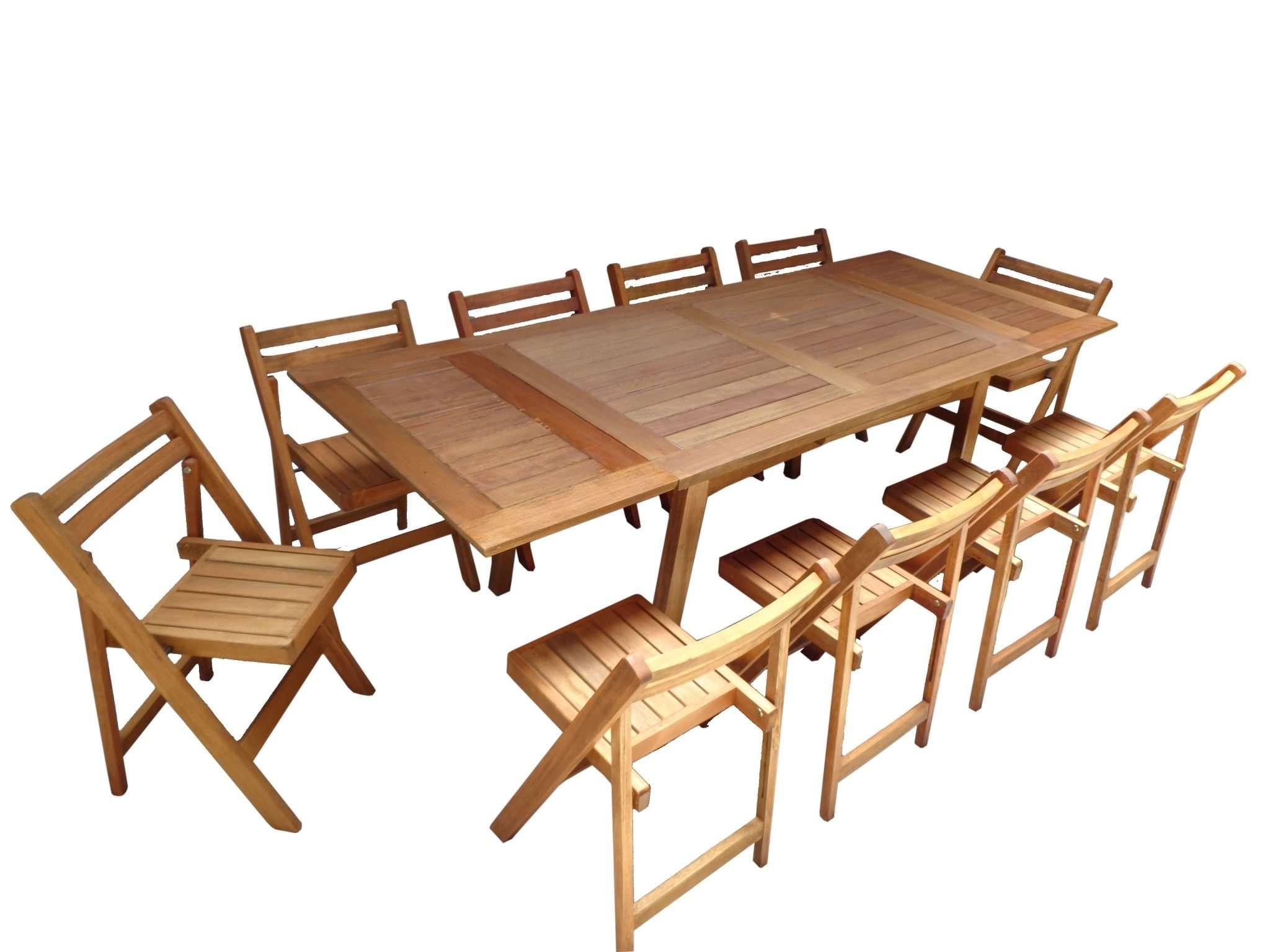Juego De 10 Sillas Dr Y Mesa Extensible Fabrica De Muebles  # Muebles Cultivados