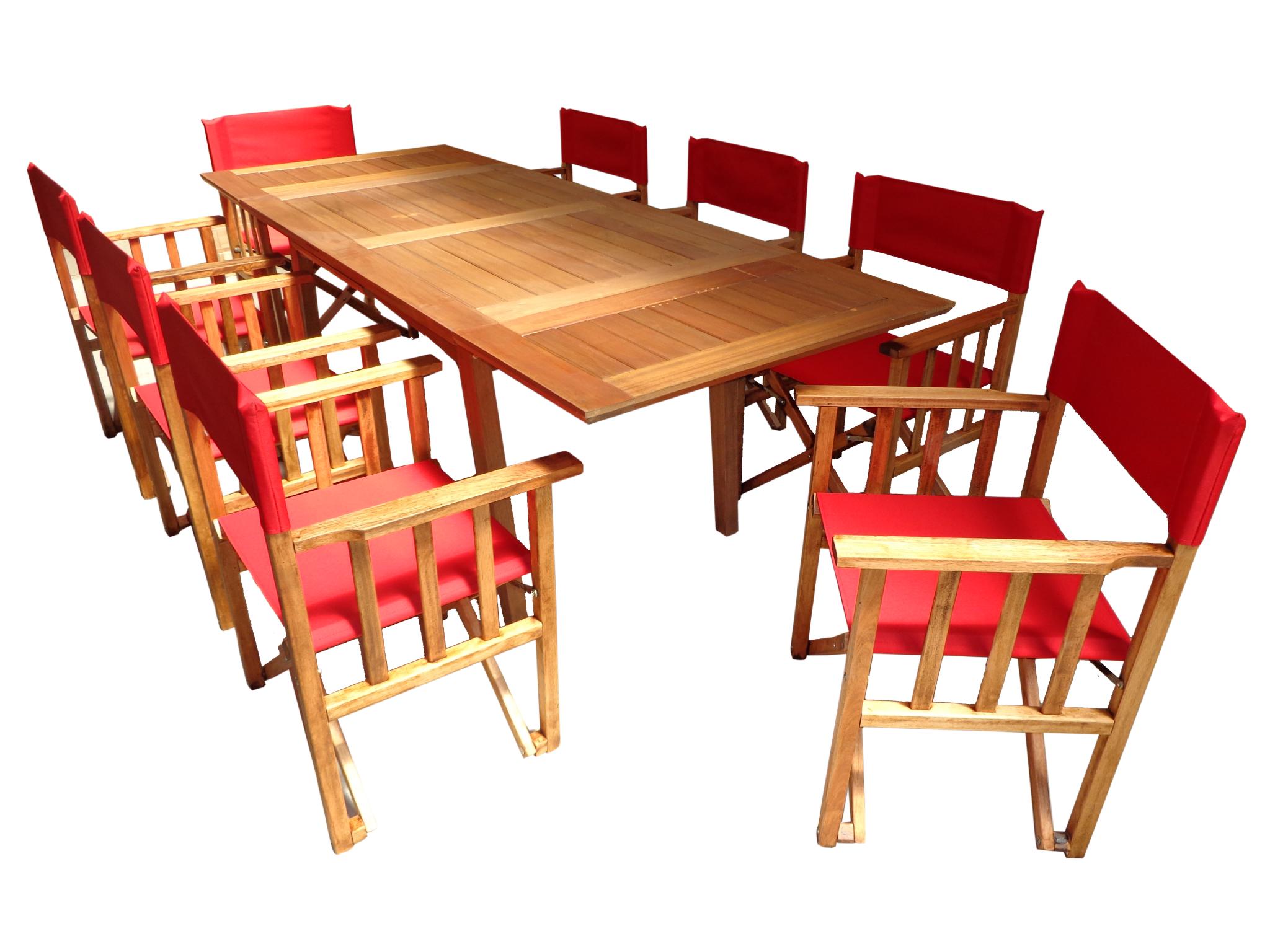 Mesa Extensible Y Sillones Director Fabrica De Muebles  # Muebles Didecor