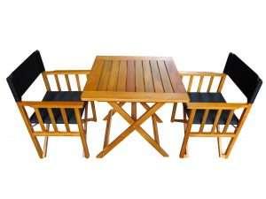 mesa + 2 director laqueados